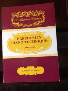 Freedom in Piano Technique